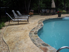 fiberglass pools raleigh, stamped concrete raleigh