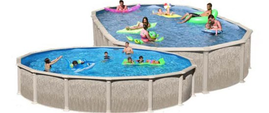 Raleigh Above Ground Pool Sale All Resin Salt Water Pool Package