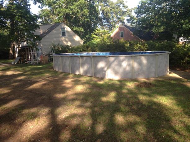 oval yukon in yard