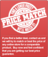 Raleigh Pool Price match