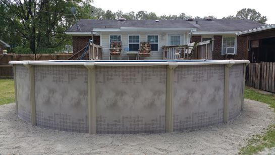 Above Ground Pools Semi Inground Pools Middletown Ny