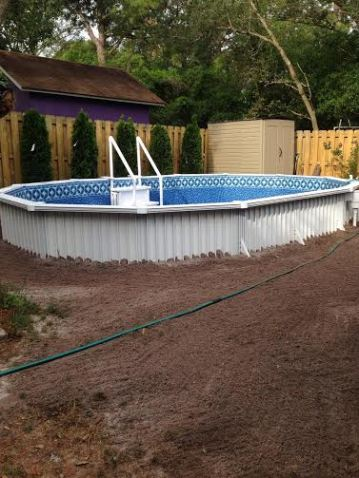 Aquasport Pool Semi Inground By Buster Crabbe Pools