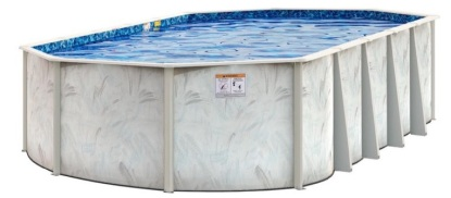 1a castaglia oval pool