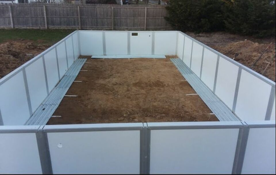 Hudson Valley Rectangle Above Ground Pools Semi In The